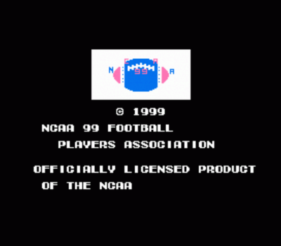 NCAA99 (Tecmo Super Bowl Hack)