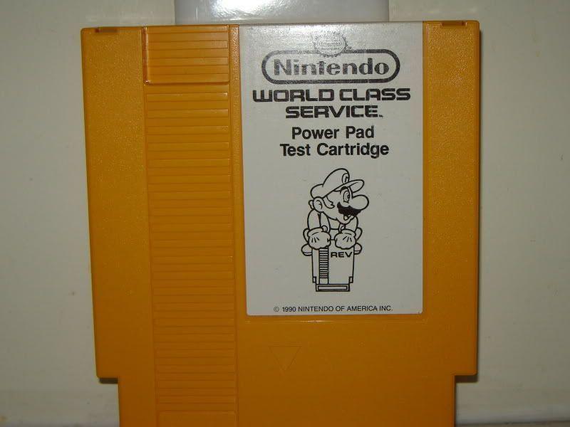 NES PowerPad Test Cart