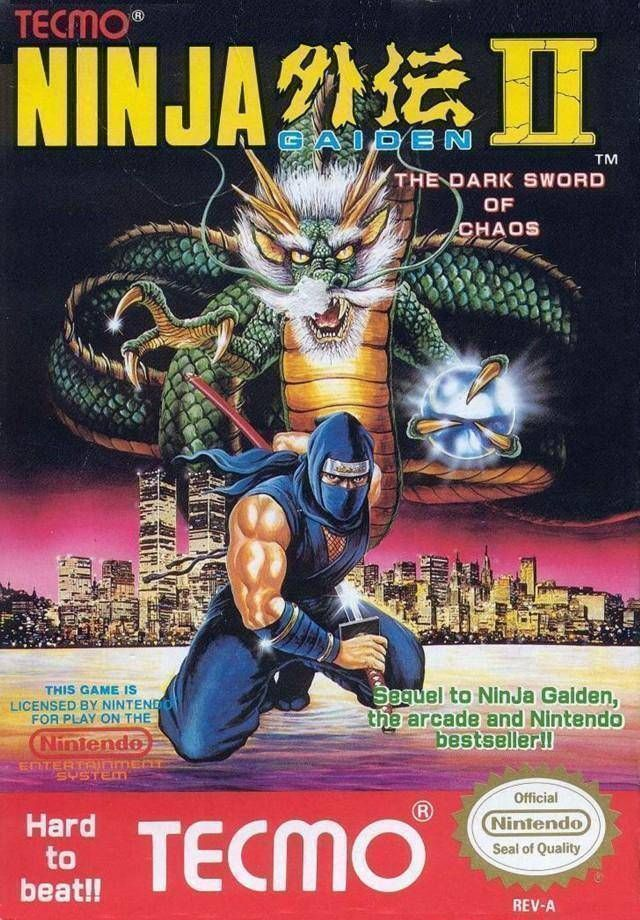 Ninja Gaiden 2 - The Dark Sword Of Chaos