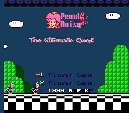 Peach & Daisy In The Ultimate Quest V2b (SMB3 Hack)