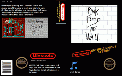 Pink Floyd - The Wall (Donkey Kong Hack)
