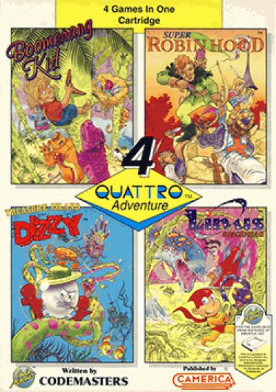 Quattro Adventure (Aladdin)