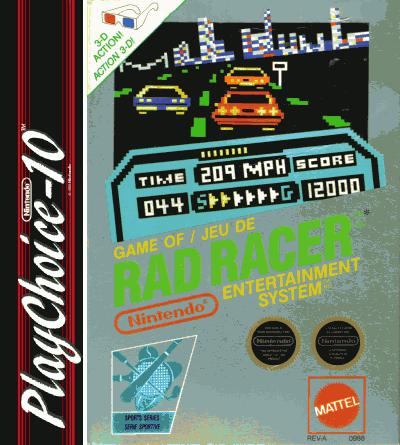 Rad Racer (PC10)