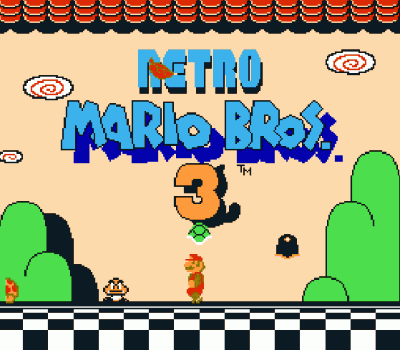 Retro Mario Bros 3 (SMB3 Hack) (Old)