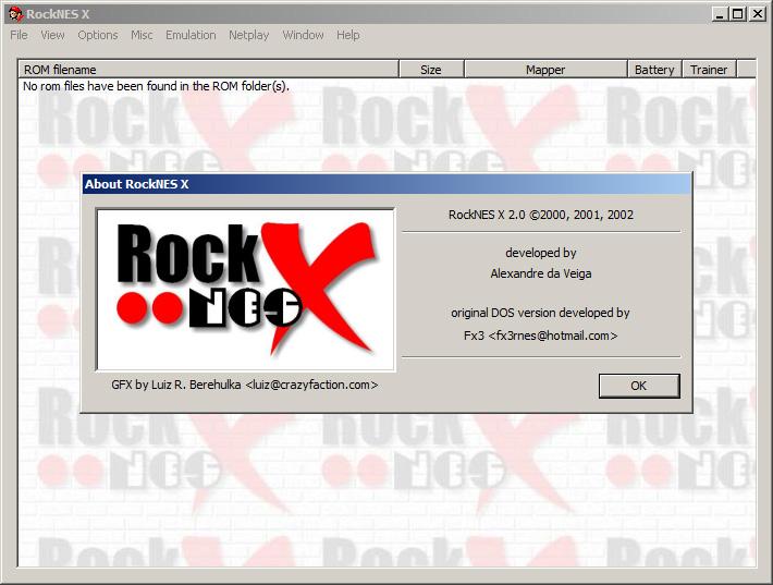 RockNES-i386 4.0.0