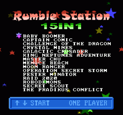 RumbleStation 15-in-1