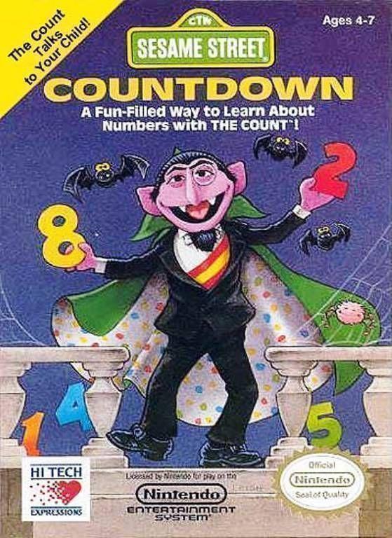 Sesame Street Countdown