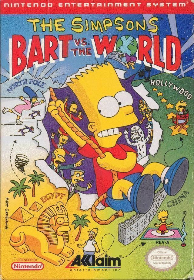 Simpsons - Bart Vs The World, The