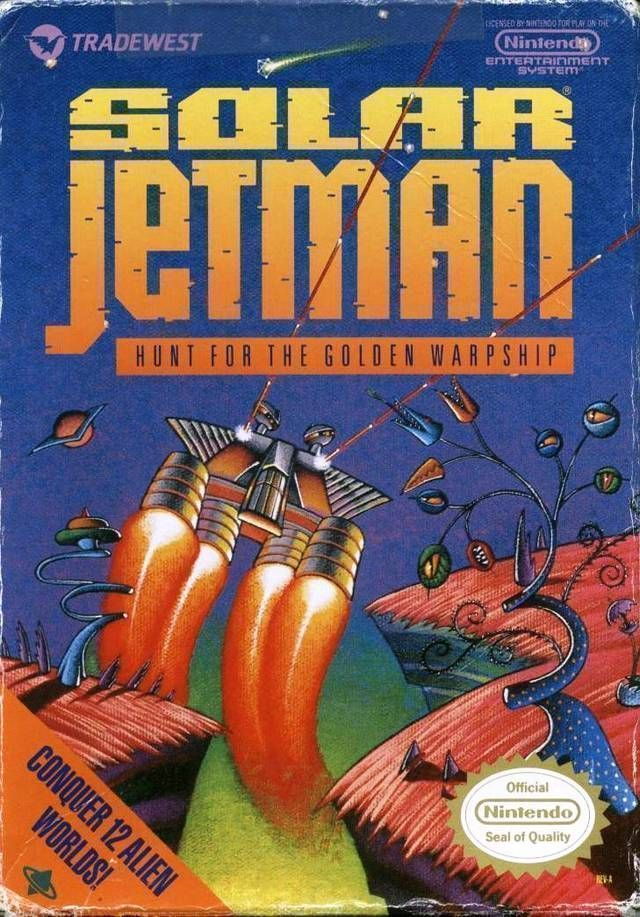 Solar Jetman - Hunt For The Golden Warpship