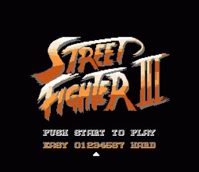 Street Fighter 3