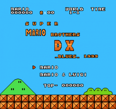 Super Mario Bros DX (SMB1 Hack)