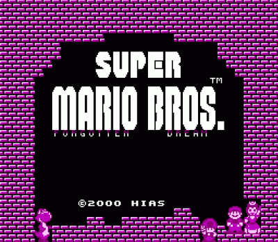 Super Mario Bros - Forgotten Dream (SMB2 Hack)