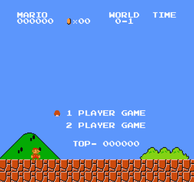 Super Mario Bros (JU) (No Title Hack) ROM - Nintendo (NES