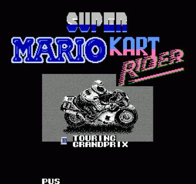 Super Mario Kart Rider