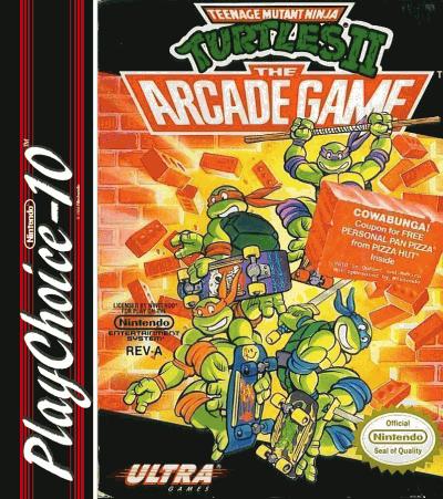 Teenage Mutant Ninja Turtles 2 (PC10)