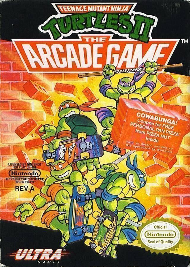 Teenage Mutant Ninja Turtles 2 Rom Nintendo Nes Emulator Games