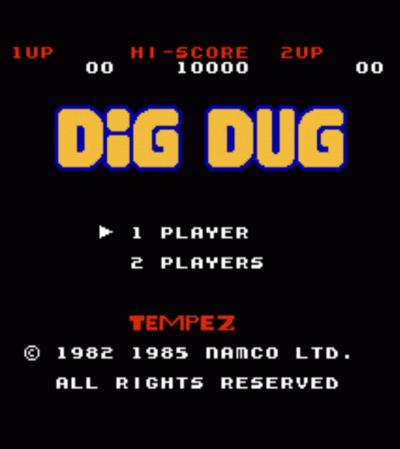 Tempez Dig Dug (Hack)
