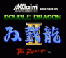 dead double dragon twins (hack) rom