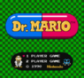 dr hatio v1.0 (dr mario hack) rom