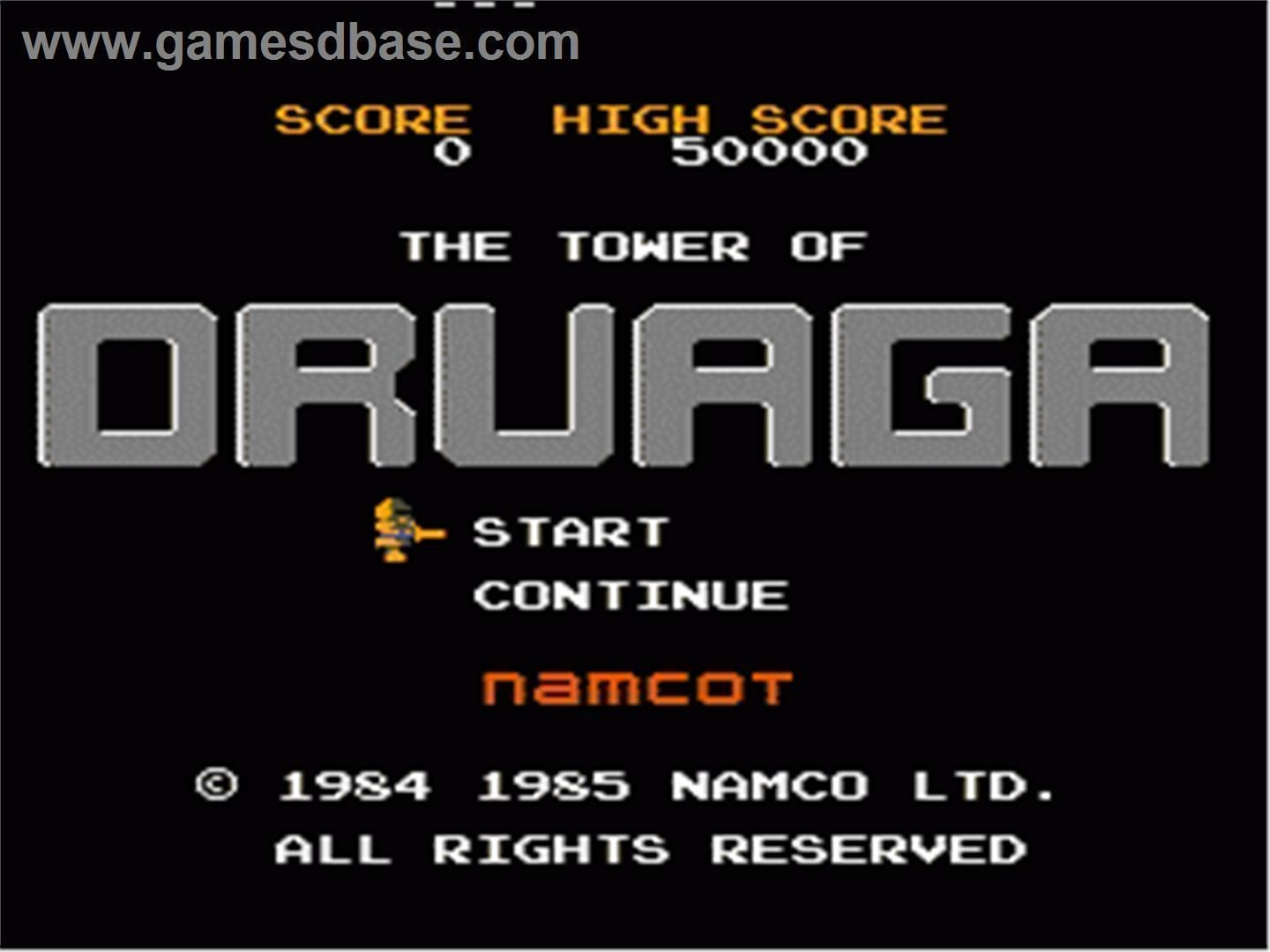 Tower Of Zalaga (Tower Of Druaga Hack)