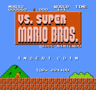 VS Super Mario Bros (VS) [a1]