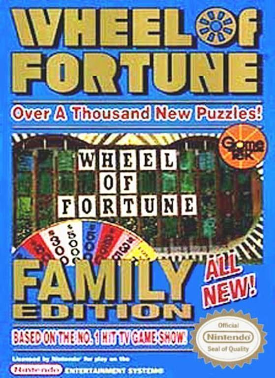 Wheel Of Fortune Family Edition