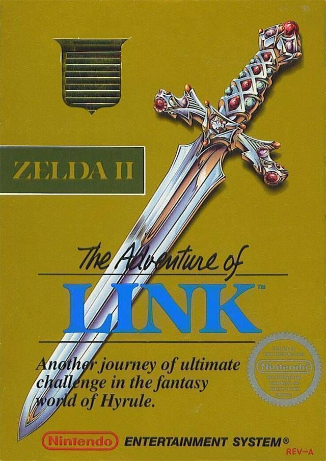 Zelda 2 - The Adventure Of Link [T-Swed]