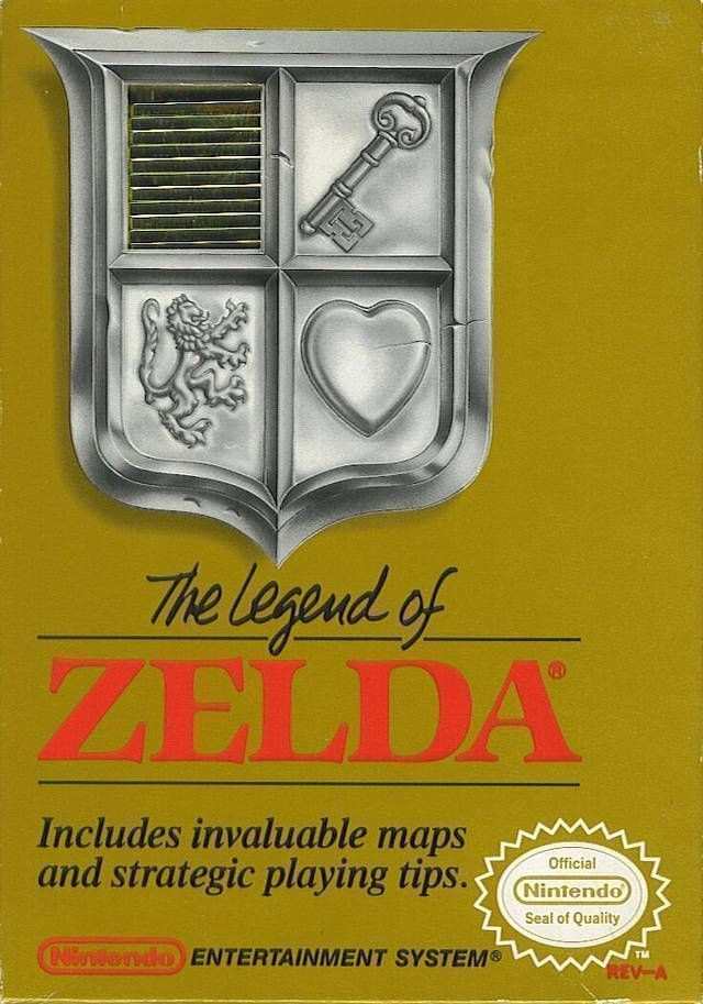 Zelda - The Legend Of Zelda ROM - Nintendo (NES) | Emulator