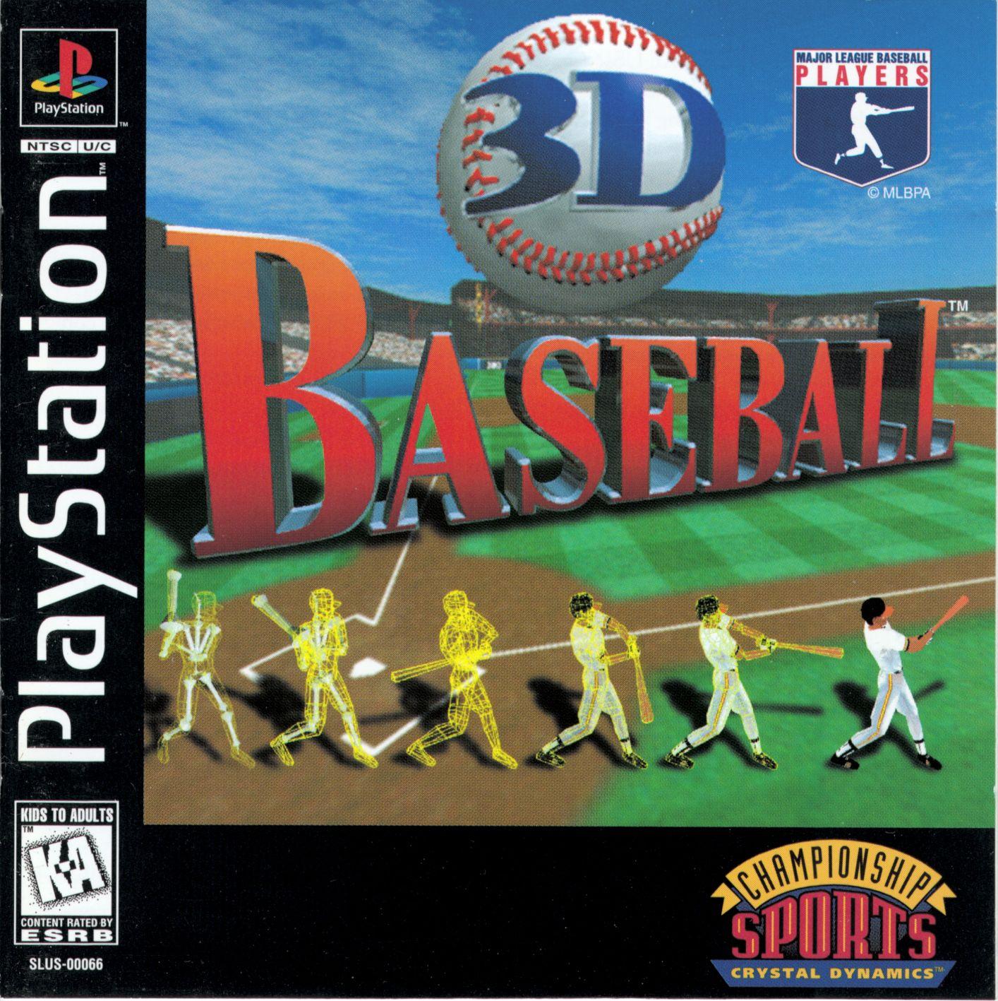 3D Baseball [SLUS-00066]