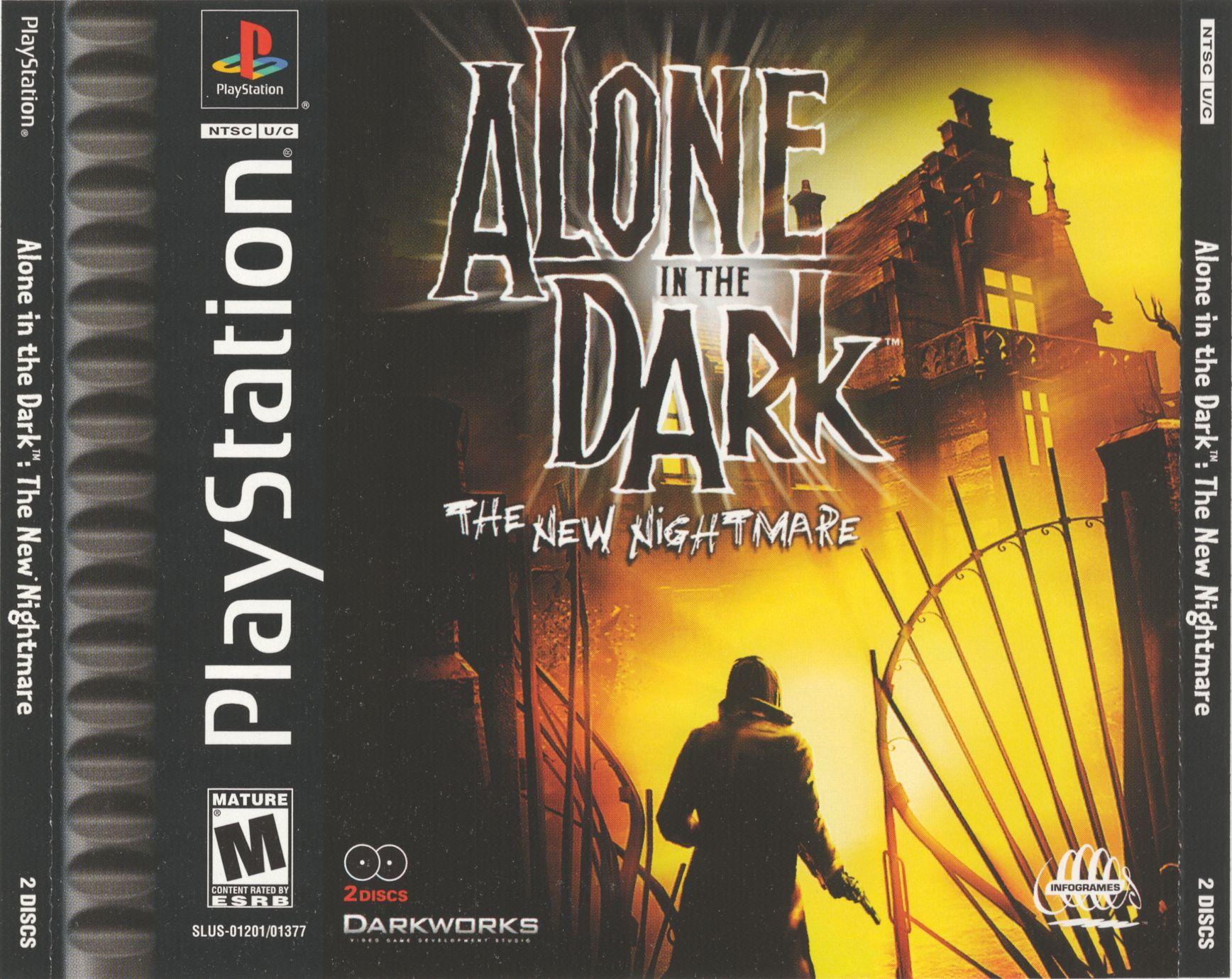 Alone In The Dark The New Nightmare Disc1of2 Slus 01201 Rom