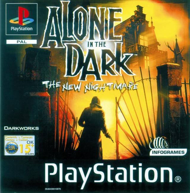 Alone In The Dark The New Nightmare Germany Disc 2 Rom