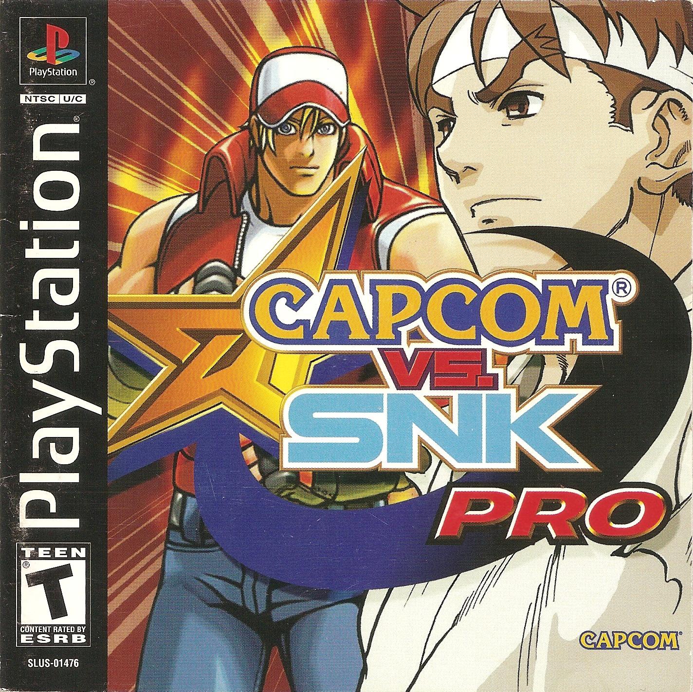 Capcom Vs. SNK - Millennium Fight 2000 Pro [SLUS-01476]