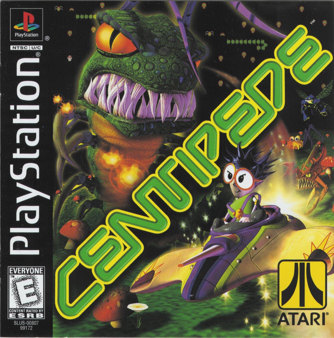 Centipede Slus 00807 Rom Playstation Ps1 Emulator Games