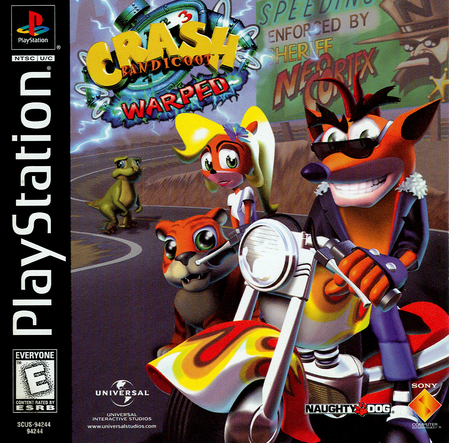 Game of the month november 2016 crash bandicoot: warped.