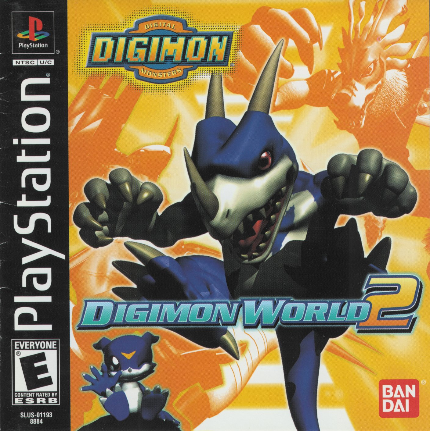 Digimon World 2 [SLUS-01193] ROM - Playstation (PS1) | Emulator Games