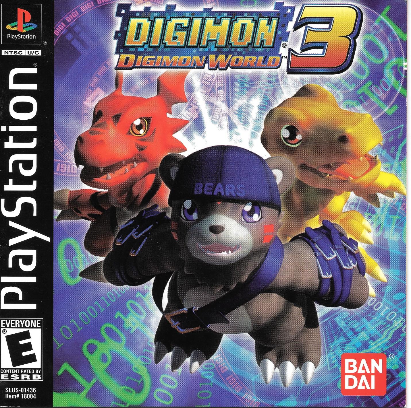 Digimon World Sles 02914 Rom Playstation Ps1 Emulator Games