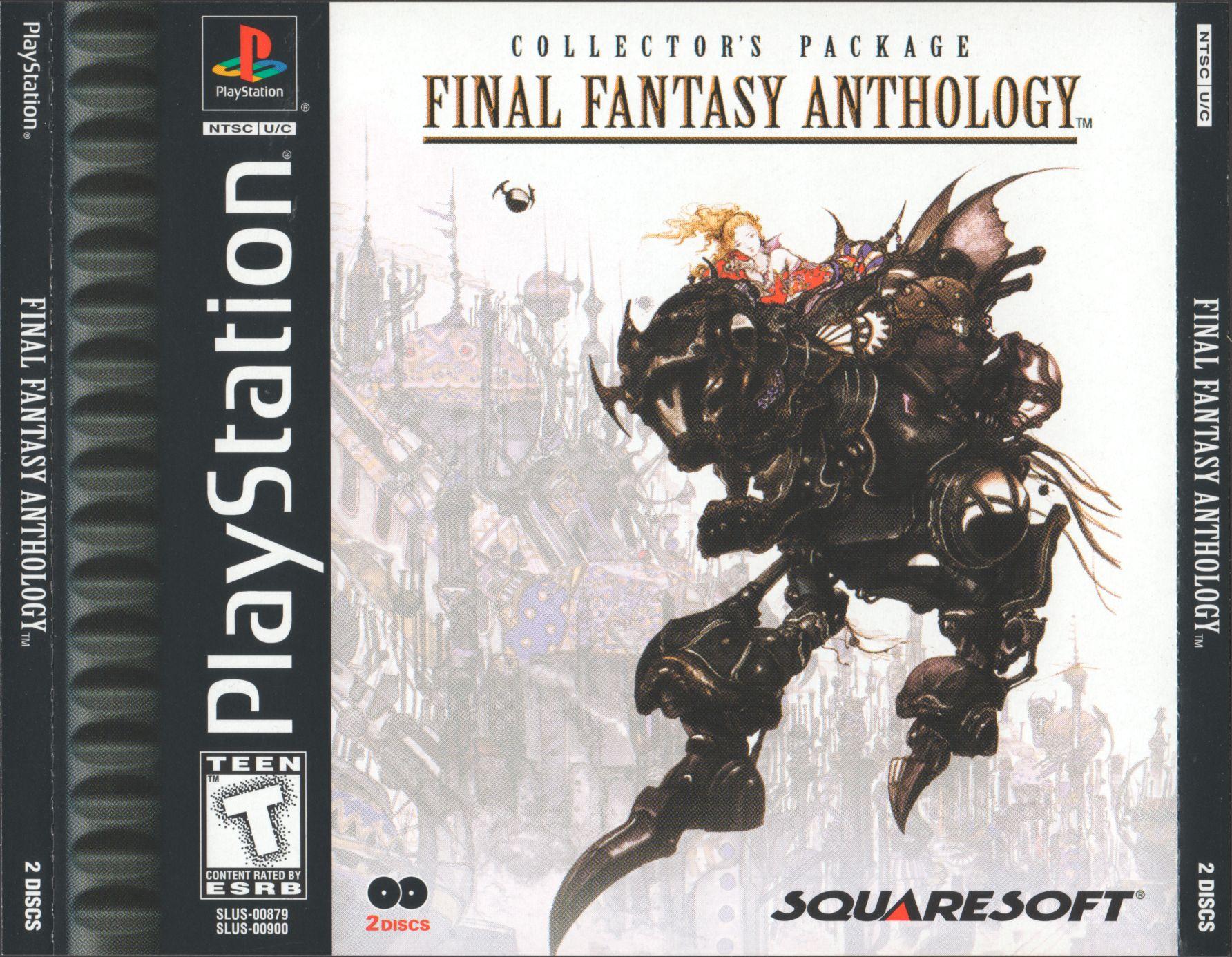 Final Fantasy 6 Rom final fantasy anthology - final fantasy vi [slus-00900] rom
