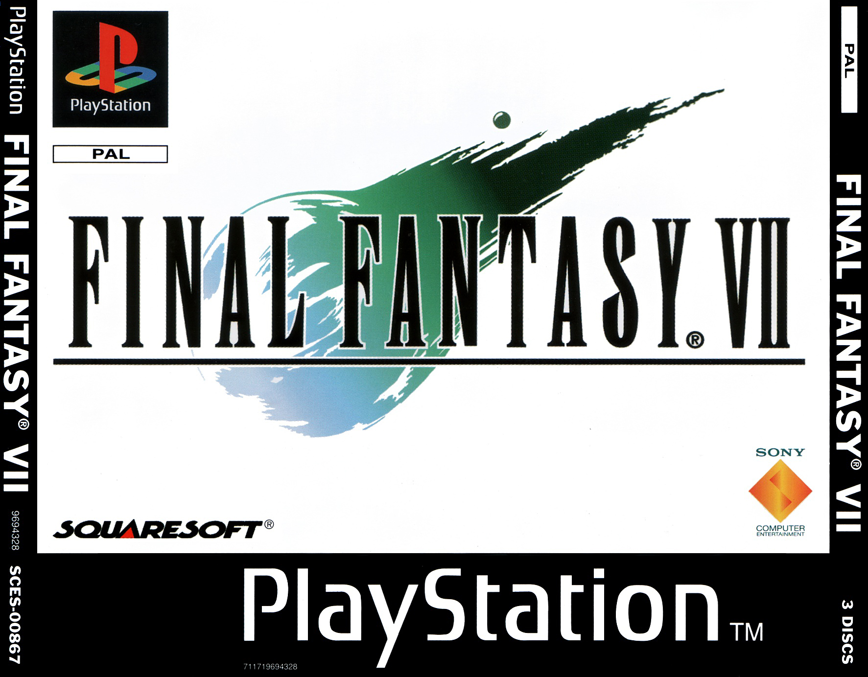 Final Fantasy VII (Disc 3) [SCES-20867]