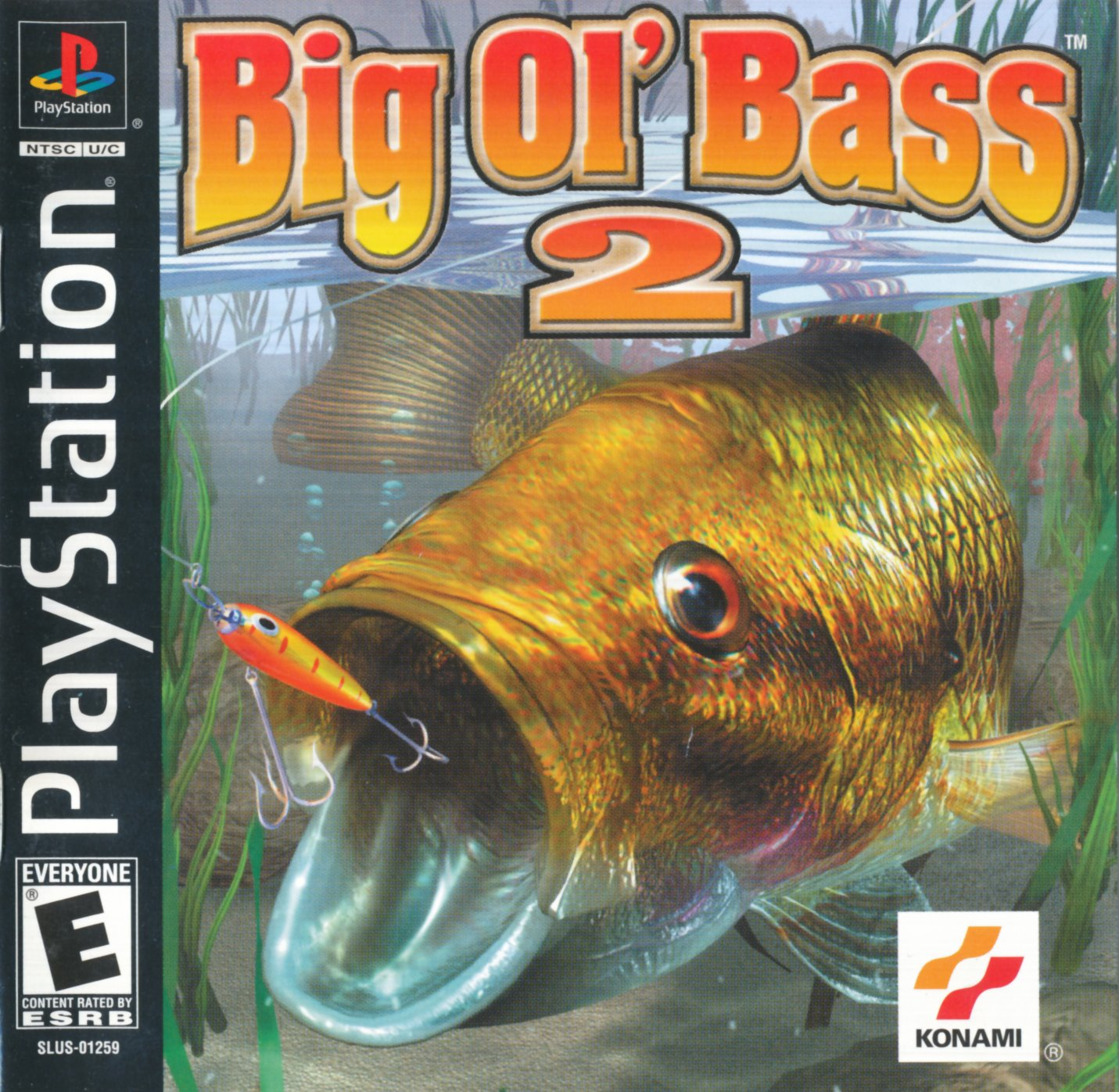 Fisherman's bait big ol' bass 2 (usa) psx / sony playstation iso.