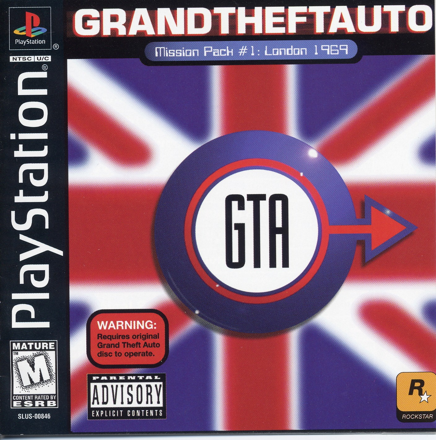 Grand Theft Auto - Mission Pack 1 - London 1969 [SLUS-00846]