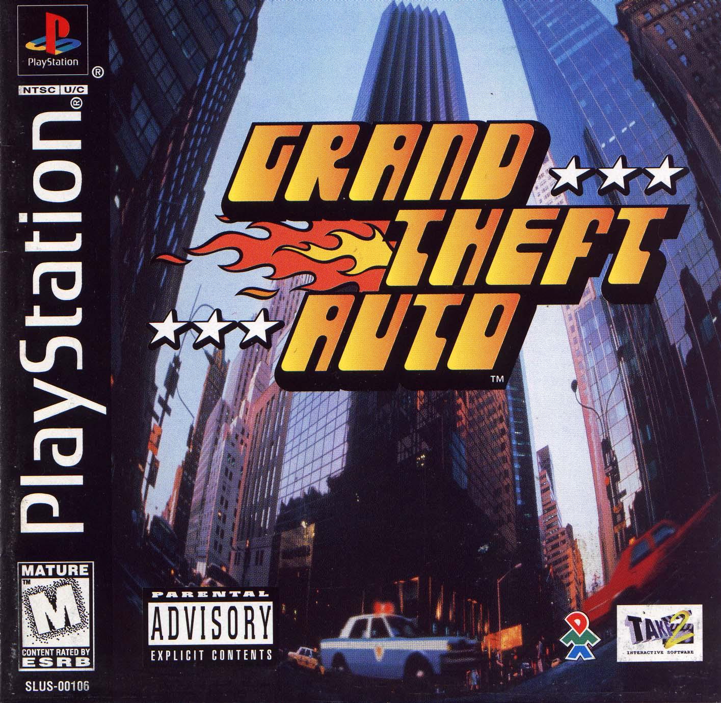 Grand Theft Auto NTSC-U SLUS-00106