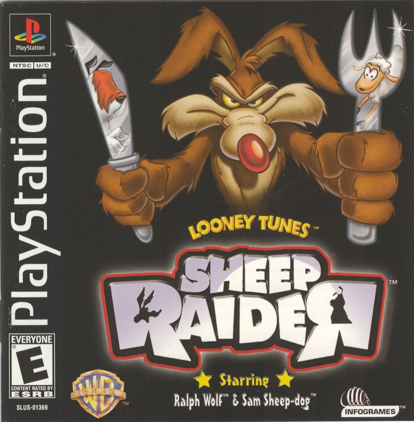 Looney Toons Sheep Raider Bin [SLUS-01369]