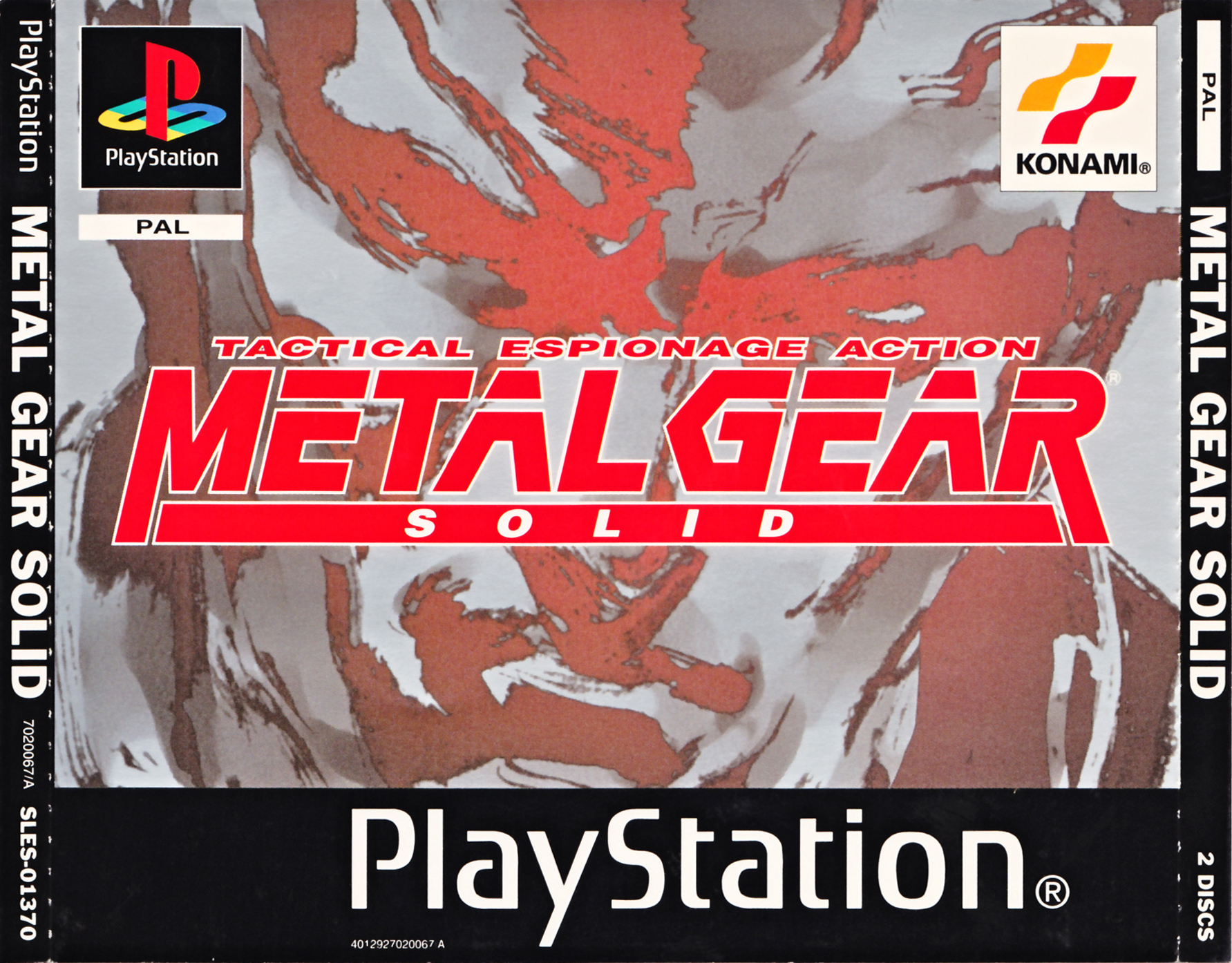 Metal Gear Solid (Disc 1) [SLES-01370]