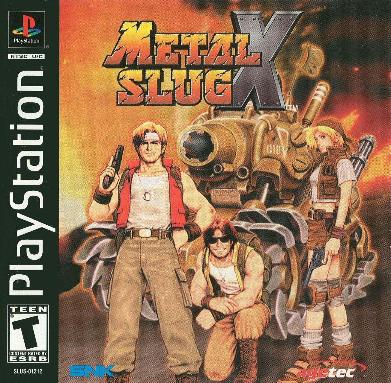 Metal Slug X [SLUS-01212]