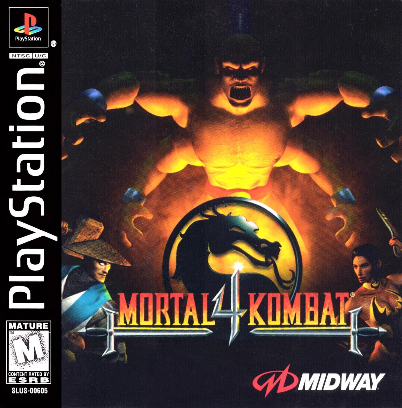 Mortal Kombat 4 [SLUS-00605]