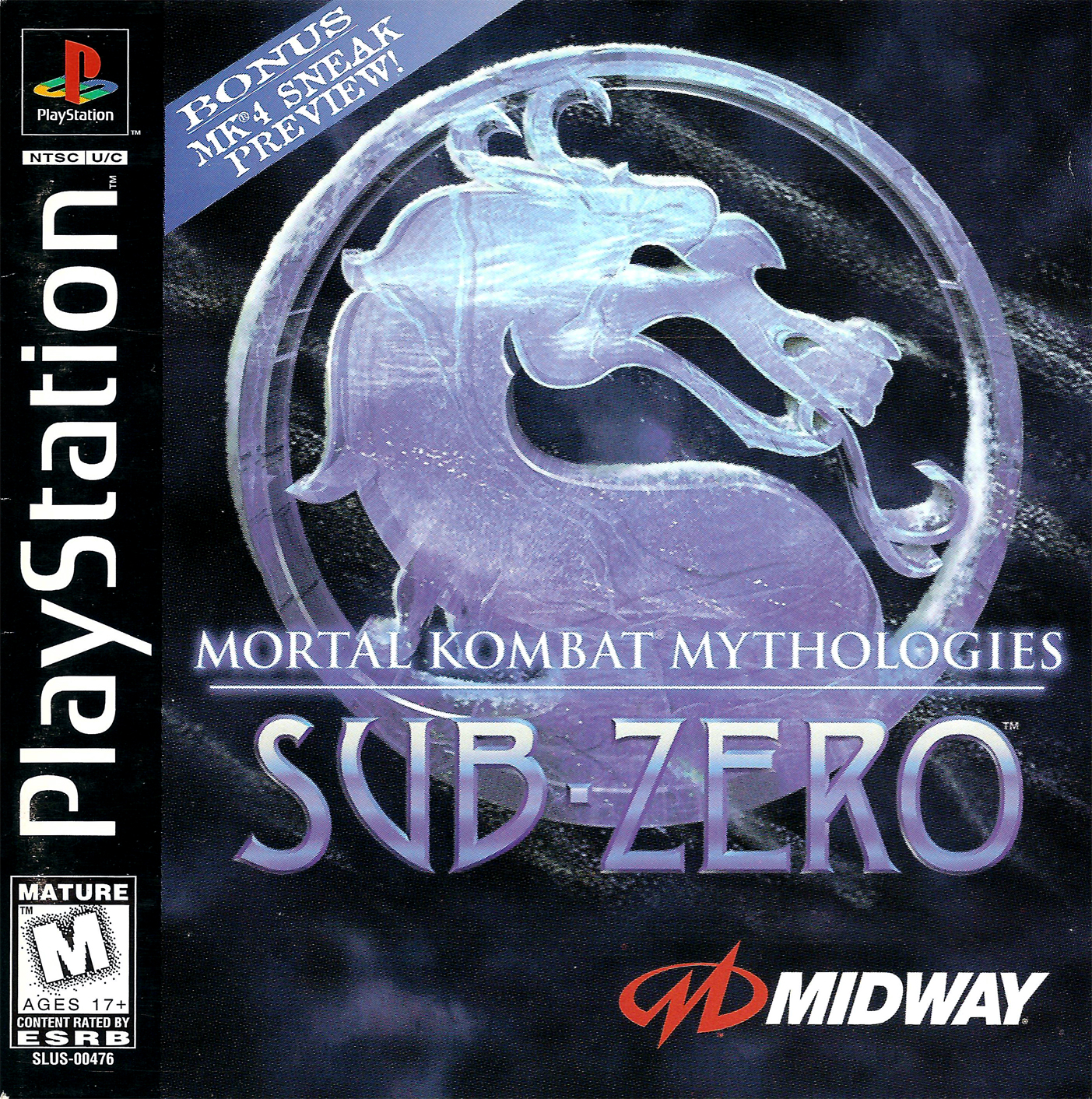 Mortal Kombat Mythologies Sub Zero 0 [SLUS-00476]