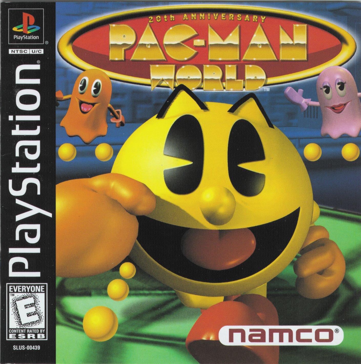 Pac Man World 20TH Anniversary [SLUS-00439]