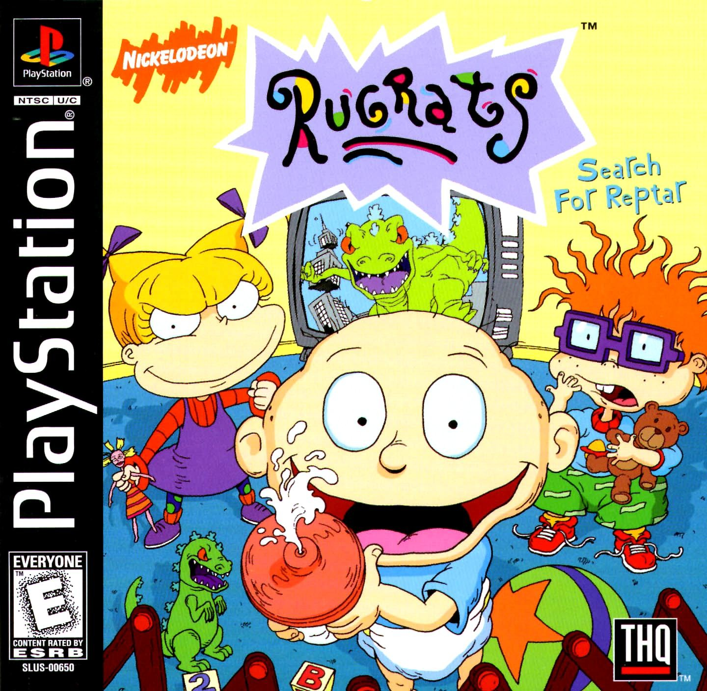 Rugrats Search For Reptar [SLUS-00650] ROM - Playstation