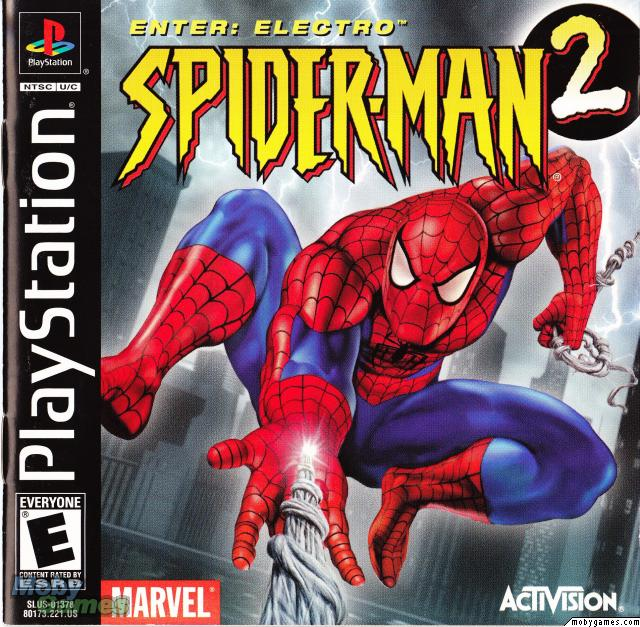 Spiderman 2 Enter Electro [SLUS-01378] ROM - Playstation (PS1