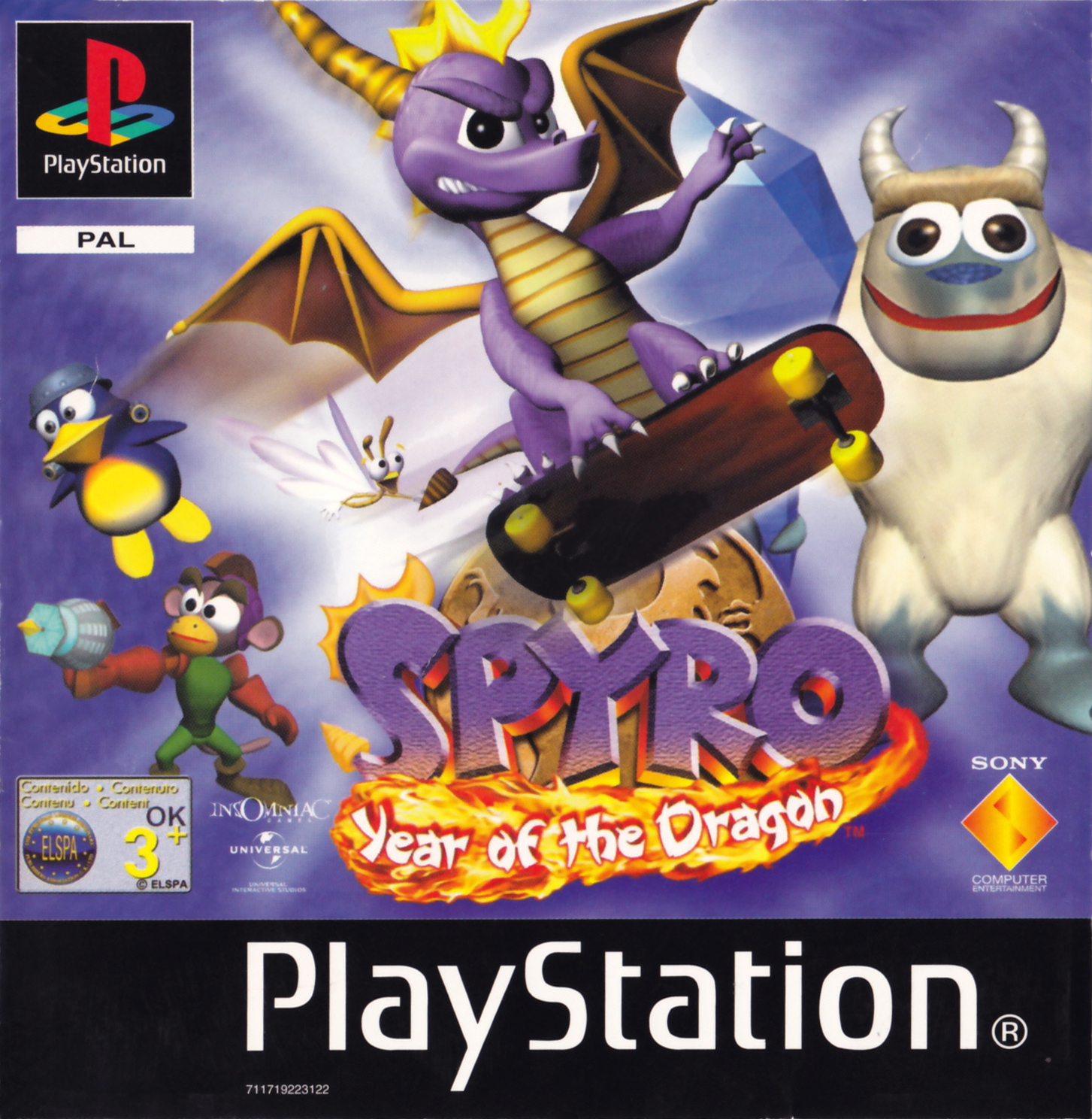 Spyro - Year Of The Dragon [SCES-02835].bin
